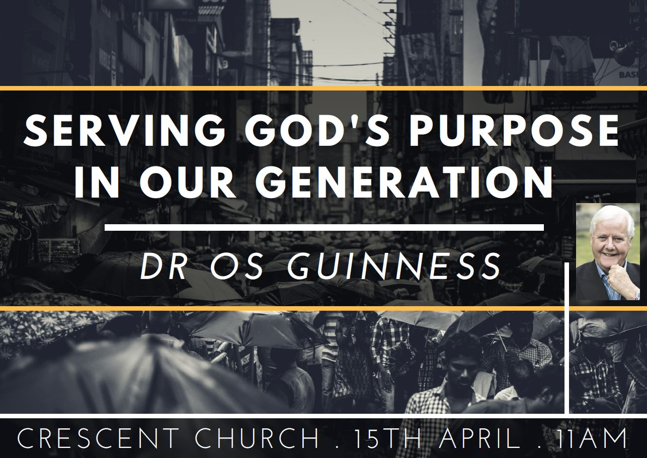 Serving God's Purpose In Our Generation