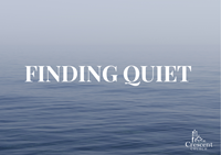 Finding Quiet - Anxiety