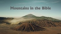 Mountains in the Bible